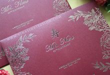 Mrs Nani 65th birthday by Vinas Invitation