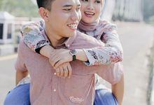 Prewedding Ardhi and Diyana by Nomu Photography
