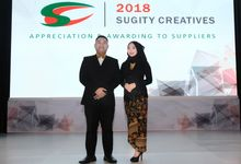 Sugity Appreciation and Awarding to Supplier 2018 by Halo Ika