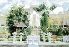 Intimate Wedding of  Mr. Ganjar and  Mrs. Djayanti by Sheraton Mustika Yogyakarta Resort & Spa