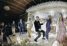 Fun Moments at Rahul and Indah Wedding Reception by  Menara Mandiri by IKK Wedding (ex. Plaza Bapindo)