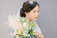 THE WEDDING OF JESSICA & DAVID by Sheila Kho Makeup