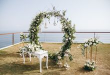The Wedding Decor of So Young and Richie at The Edge by Red Gardenia