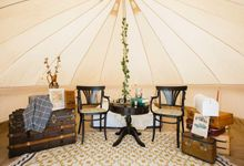 Glamping Wedding Proposal by Glittering Carousel