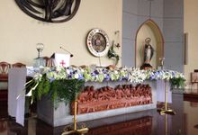 Church Decor by d'eufloria