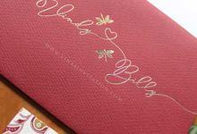 Vindy & Billy - red by Vinas Invitation