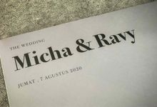 From the wedding of Micha & Ravy by Moria Invitation