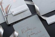 Rendra & Gazza by Vinas Invitation