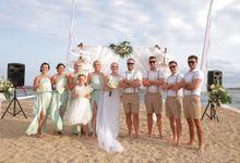Ben & Amy Wedding on 25 August 2018 by Sudamala Resorts