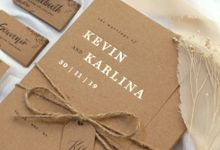 Kevin + Karlina by Caramel Card