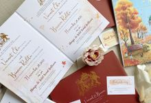 Autumn Story by Trouvaille Invitation