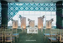 THE WEDDING OF TRACY & PUTRA by alienco photography