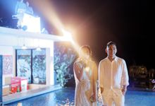 Ayla Dimitri & Rama Wedding at Atlantis Beach Club by Plataran Indonesia
