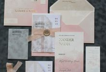 Xander & Nadia by Vinas Invitation
