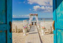 Beach and Sunset Wedding by The Bellevue Resort
