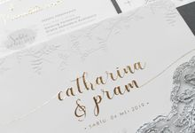 Catharina & Pram by Vinas Invitation