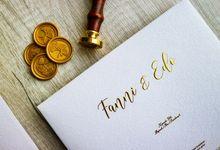 Fanni & Edo Wedding by Gifu Invitation & Souvenir