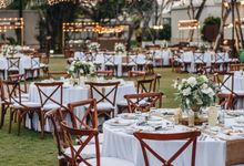 Wedding of Elvan & Jessica in Royal Santrian by Red Gardenia