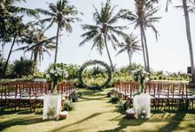 Beautiful in green and white by CITTA Wedding
