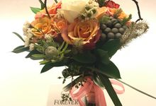 Rustic Theme Hand Bouquet by Papa Mama Florist