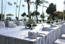 Wedding Ceremony of Paul and Melody by WakaGangga Resorts