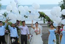 Wedding Ceremony of Paul and Melody by WakaGangga Resorts