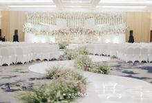 Sundanese Akad of Ishmael & Rizka by  Menara Mandiri by IKK Wedding (ex. Plaza Bapindo)