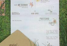 #arialaffintan wedding invitation by byintansl
