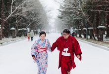 Destination Pre Wedding Hokkaido Japan by JOHN HO PHOTOGRAPHY
