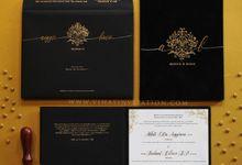 Anggie & Bowo by Vinas Invitation