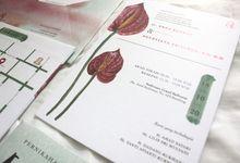 Ecca & Tian Wedding Invitation by byintansl