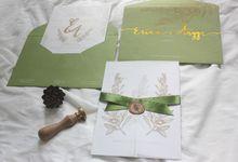 Erina & Angga Wedding Invitation by byintansl