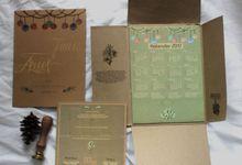 Tania & Arief Wedding Invitation by byintansl