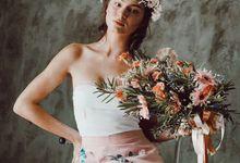 Calla flower skirt by Espoir Studio