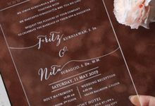 Fritz & Nita by Vinas Invitation