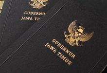 buku notes - Gubernur Jawa Timur by Vinas Invitation
