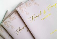 Hansel & Jenny Wedding by Gifu Invitation & Souvenir