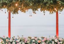 Rustic Alfresco Clifftop Wedding at Bayuh Sabbah Villa - Bali by Silverdust Decoration