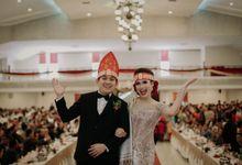 Wedding Adat Batak Franz & Ruth by MARON FOTO