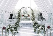 Rustic White Intimate Wedding by Silverdust Decoration