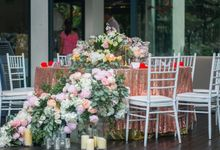 Feeling Champagne by Fleurs At Marrakesh