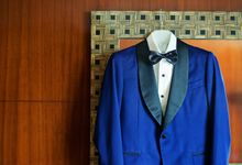 Classic Blue Tuxedo Of Lawrence Go by TIÑO