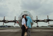 Prewedding Digdo & Ayu @ Bandara Halim Perdana Kusuma by Narasi Photography