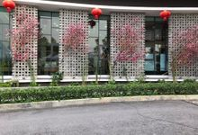 Chinese New Year 2018 GAMUDA Gardens Show Gallery Decorations by DENNSA Events