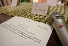 The Wedding Ceremony - Akad Nikah of Puteri & Endra by APH Soundlab