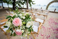 Rob and Michelle wedding at Conrad Koh Samui by BLISS Events & Weddings Thailand