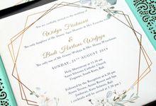 Widya & Budi by Vinas Invitation