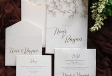 Nour & Rayan by Vinas Invitation