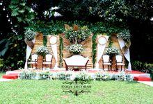 wedding alex dan nanda by Fiora Fairuz Wedding (Faiqa Decoration)