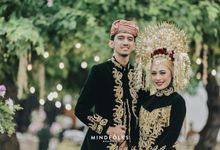 Minang Reception of Ari & Astari by  Menara Mandiri by IKK Wedding (ex. Plaza Bapindo)